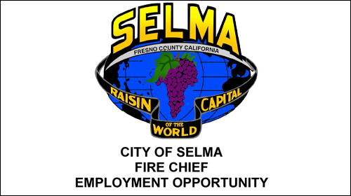 City Of Selma Fire Chief Employment Opportunity